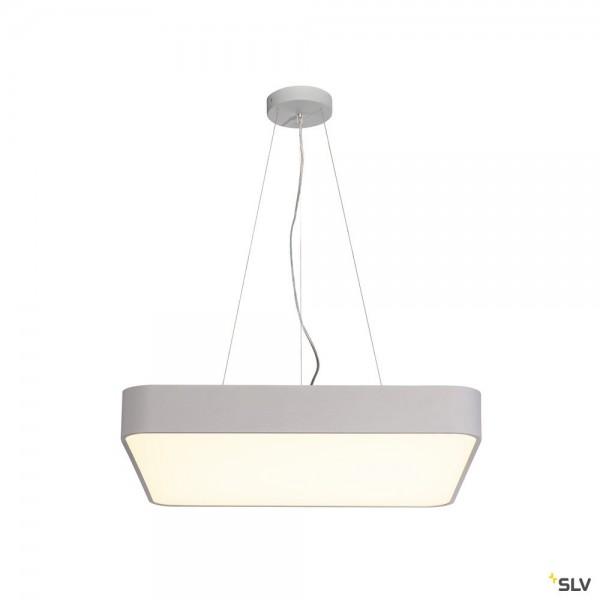 SLV 135254 + 1000727 Medo 60 Square, grau, dimmbar 1-10V, LED, 39W, 3000K, 3300lm