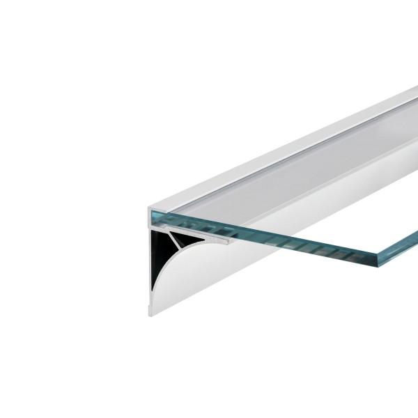 SLV 213531 Glenos, Regalprofil, weiß matt, B/H/L 6x6,9x60cm, LED Strips max.B.1cm