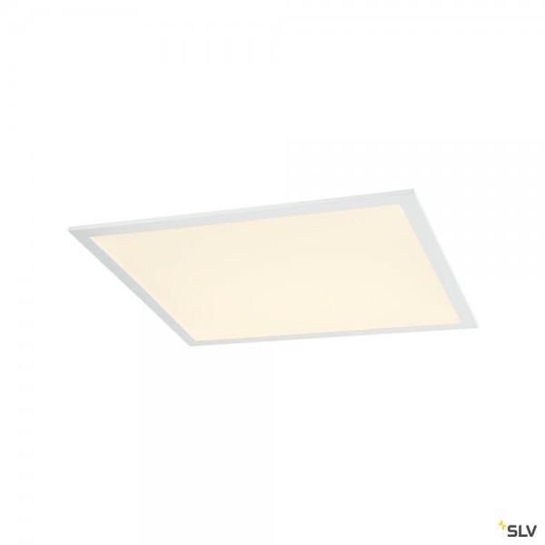 SLV 1003083 LED Panel, Deckeneinbauleuchte, weiß, 59,9x59,9cm, LED, 35W, 3000K, 4000lm