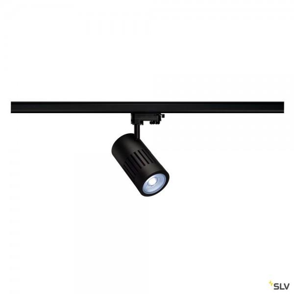 SLV 1000986 Structec, 3Phasen, Strahler, schwarz, LED, 28W, 4000K, 2800lm, 36°