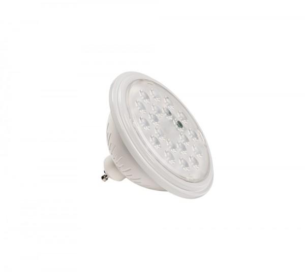 SLV 1000753 Valeto®, weiß, dimmbar, QPAR111, GU10, LED, 9,5W, 2700K-6500K, 830lm, 25°