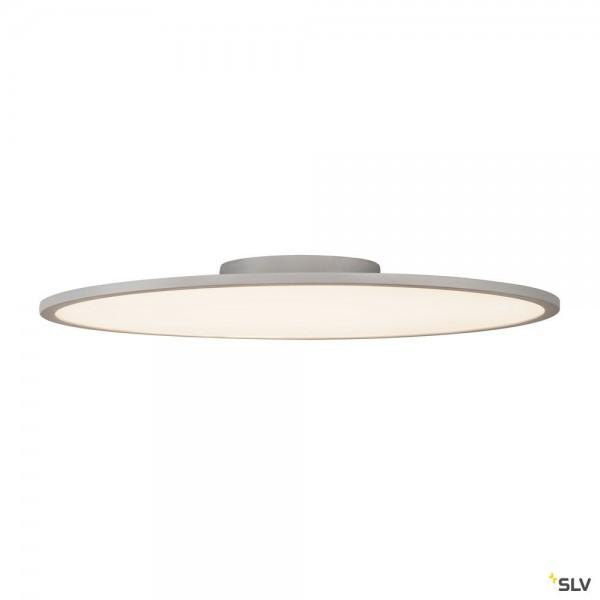 SLV 1003042 Panel 60, Deckenleuchte, grau, dimmbar Dali, LED, 42W, 3000K, 3150lm