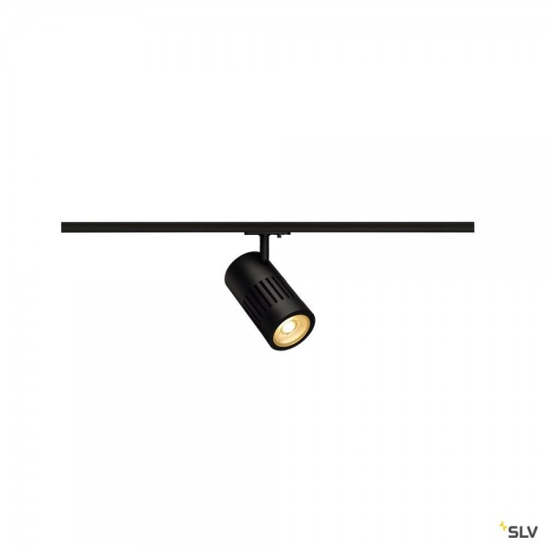 SLV 1000974 Structec, 1 Phasen, Strahler, schwarz, LED, 28W, 3000K, 2700lm, 36°