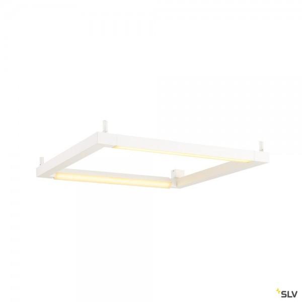 SLV 1001294 Open Grill, Wand- und Deckenleuchte, weiß, LED, 54W, 3000K, 4500lm