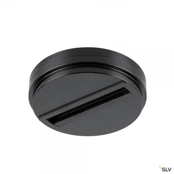 SLV 1004684 3Phasen, S-Track Dali, Aufbauschiene, Deckenrosette, schwarz