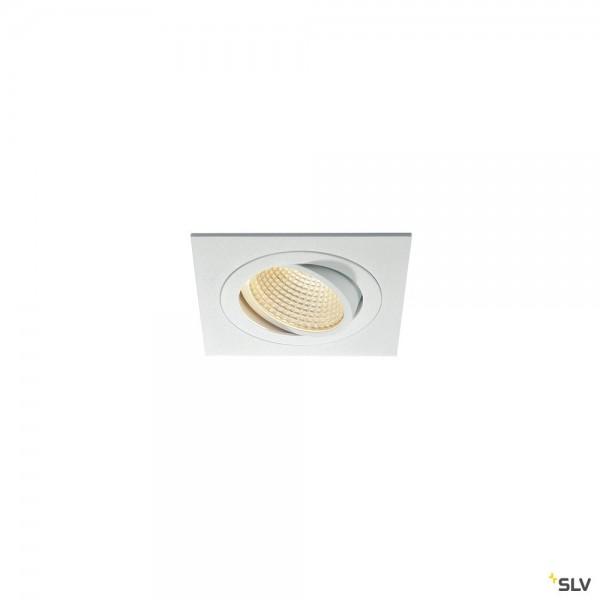 SLV 114251 New Tria 1 Set, Deckeneinbauleuchte, dimmbar Triac C+L, LED, 16W, 3000K, 1120lm