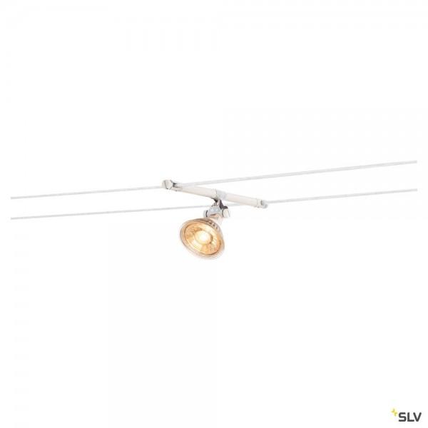 SLV 139091 Cosmic, Seilsystem, Strahler, weiß, GX5.3, max.35W