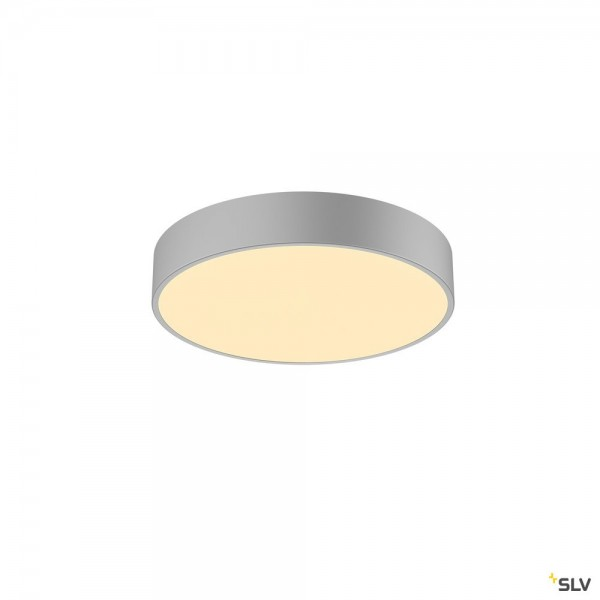 SLV 1001885 Medo 40 CW Ambient, silbergrau, dimmbar C, LED, 31W, 3000K/4000K, 2950lm
