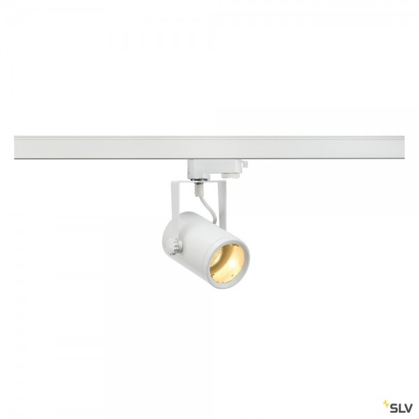 SLV 153851 Euro Spot, 3Phasen, Strahler, weiß, QPAR51, GU10, max.25W