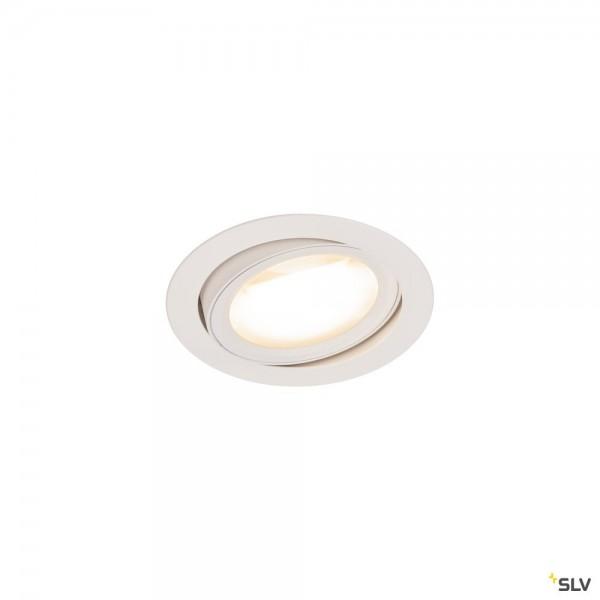 SLV 1004669 Oculus Move, Deckeneinbauleuchte, weiß, Dim to Warm C, LED, 10,5W, 2000-3000K, 780lm