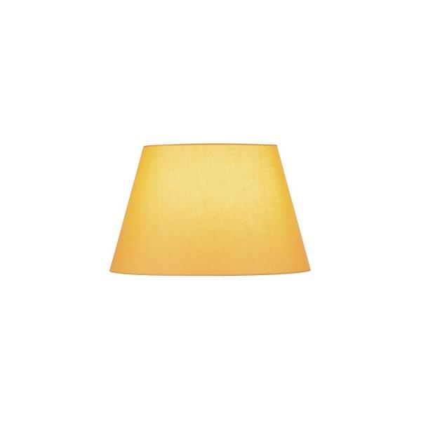 SLV 156184 Fenda, Textilschirm, 45,5cm, gelb