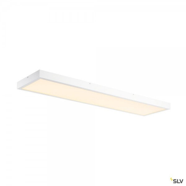 SLV 1001505 LED Panel, Deckenleuchte, weiß, dimmbar C, LED, 45W, 3000K, 3100lm