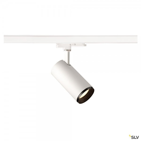 SLV 1004479 Numinos M, 3 Phasen, Strahler, weiß/schwarz, dimmbar Dali, LED, 20,1W, 4000K, 2120lm, 36
