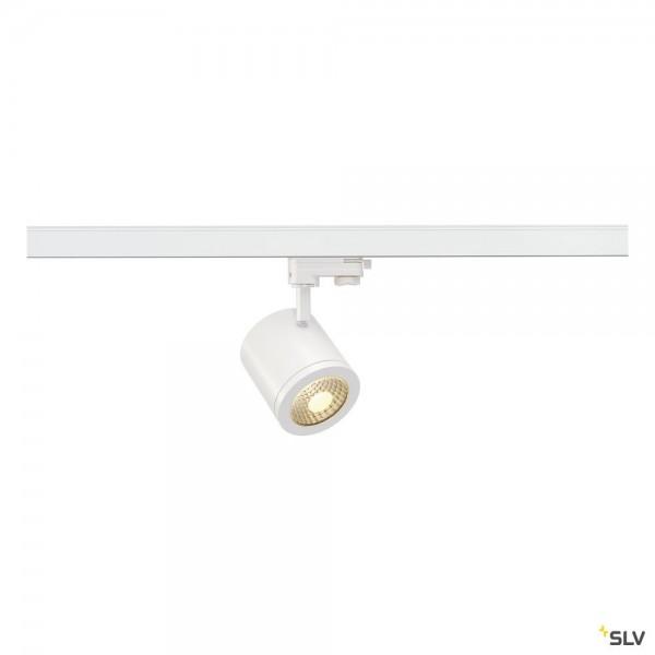 SLV 152431 Enola_C, 3Phasen, Strahler, weiß, LED, 12W, 3000K, 900lm, 55°
