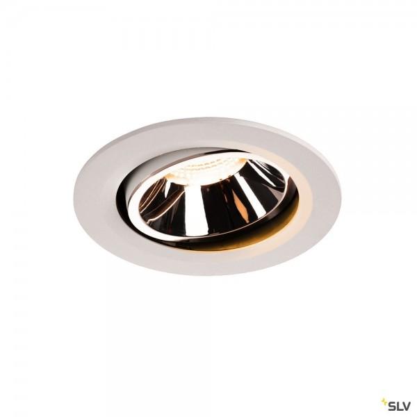 SLV 1003642 Numinos Move L, Deckeneinbauleuchte, weiß, LED, 25,41W, 2700K, 2150lm, 40°