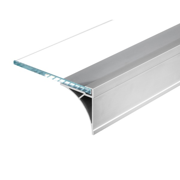 SLV 213534 Glenos, Regalprofil, alu eloxiert, B/H/L 6x6,9x60cm, LED Strips max.B.1cm
