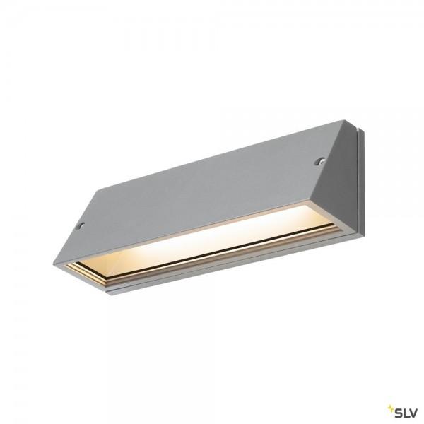 SLV 1003454 Pema, Wandleuchte, grau, IP65, LED, 16W, 3000K/4000K, 1400lm