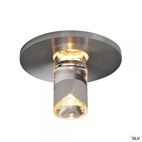 SLV 1001155 Lightpoint, Deckeneinbauleuchte, chrom, LED, 1W, 3000K, 100lm