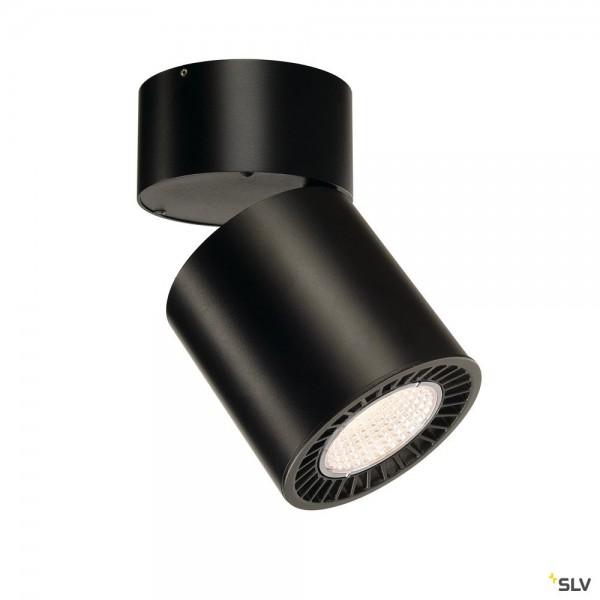 SLV 1003289 Supros Move, Strahler, schwarz, LED, 31W, 3000K, 2600lm