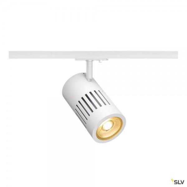 SLV 1000975 Structec, 1 Phasen, Strahler, weiß, LED, 28W, 3000K, 2700lm, 36°