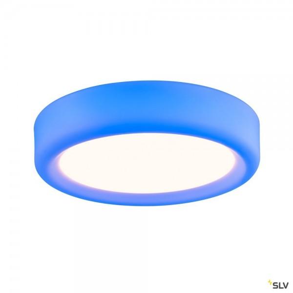 SLV 1002858 Valeto® Malang, Wand- und Deckenleuchte, weiß, LED, 2700K-6500K, 2750lm+ RGBW