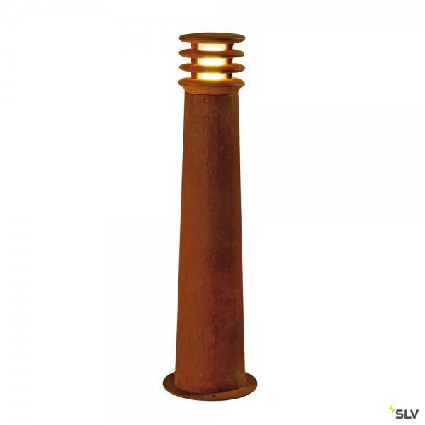 SLV 229021 Rusty Round 70, Standleuchte, eisen gerostet, IP55, E27, max.11W