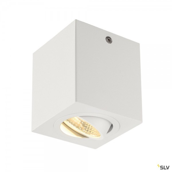 SLV 113941 Triledo Square, Deckenleuchte, weiß, LED, 8,1W, 3000K, 670lm