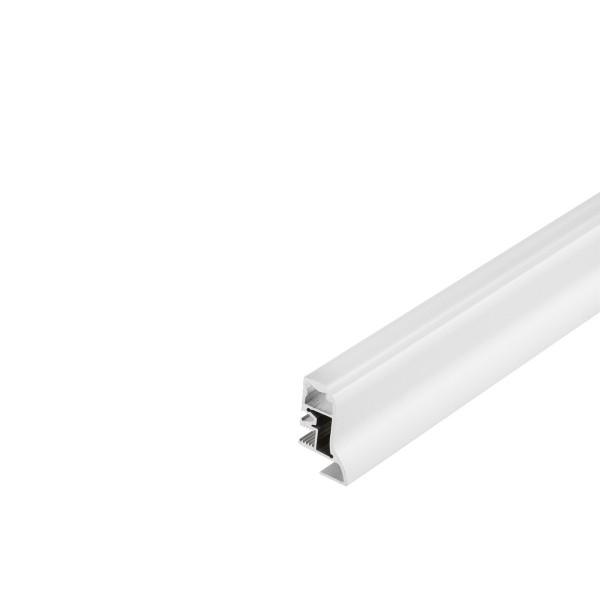 SLV 214011 Glenos, Fußleistenprofil, weiß matt, B/H/L 2,3x4x200cm, LED Strips max.B.1,2cm