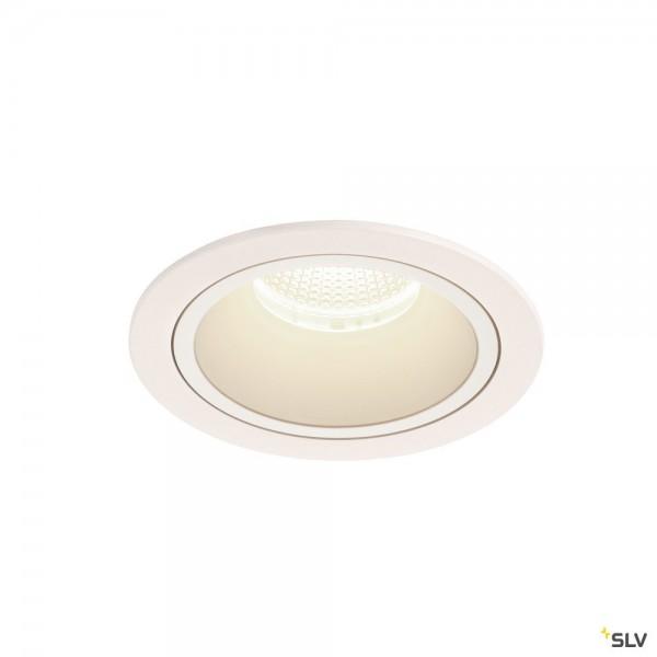 SLV 1003977 Numinos L, Deckeneinbauleuchte, weiß, LED, 25,41W, 4000K, 2450lm, 40°