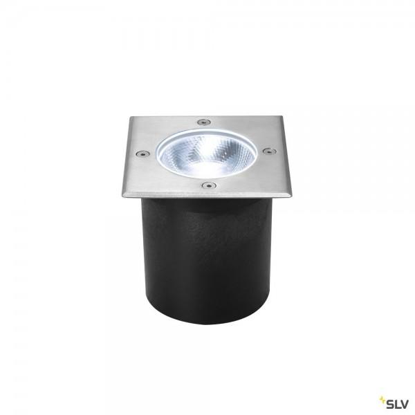 SLV 1002186 Rocci, Bodeneinbauleuchte, Edelstahl, IP67, LED, 8,6W, 3000K, 630lm