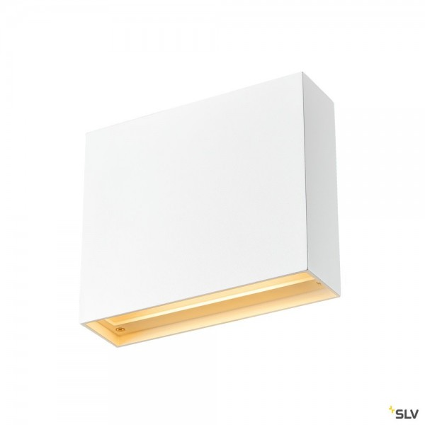 SLV 1003468 Quad Frame 19, Wandleuchte, weiß, LED, 11W, 2700K/3000K, 640lm