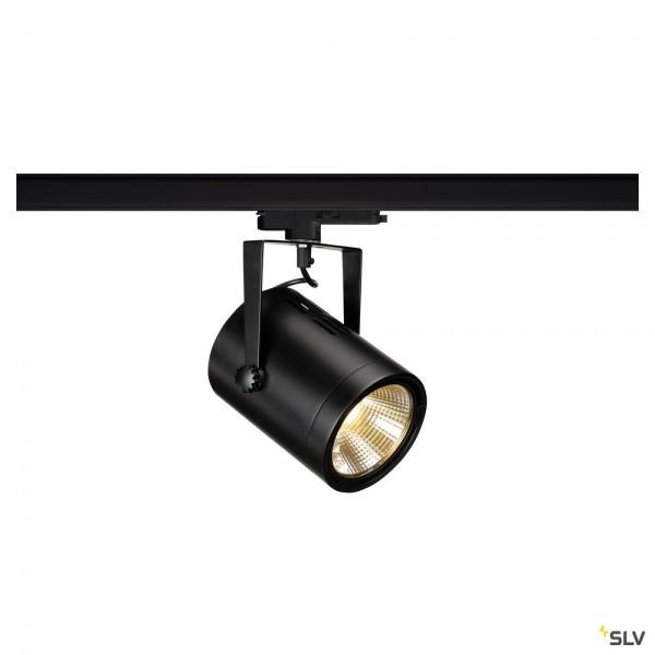 SLV 1002669 Euro Spot, 3Phasen, Strahler, schwarz, dimmbar Dali, LED, 20W, 3000K, 1900lm, 38°