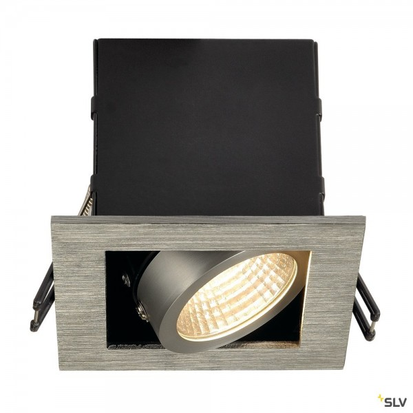 SLV 115706 Kadux 1 Set, Deckeneinbauleuchte, dimmbar C+L, LED, 8,3W, 3000K, 650lm