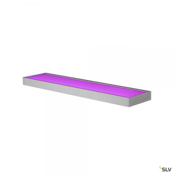 SLV 1003023 New Flat, Wandleuchte, aluminium, LED, 11,3W, 3000K, 580lm, RGBW