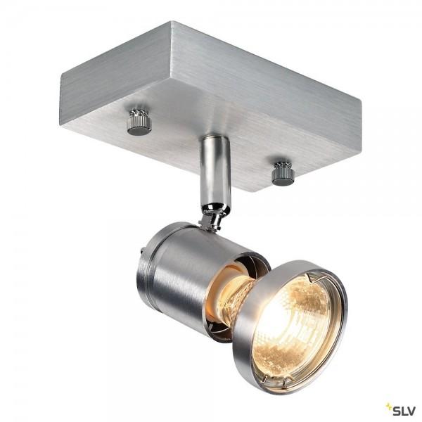 SLV 147441 Asto 1, Strahler, alu gebürstet, QPAR51, GU10, max.50W
