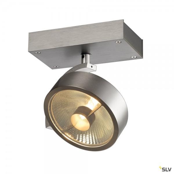 SLV 147306 Kalu, Strahler, alu gebürstet, QPAR111, GU10, max.75W