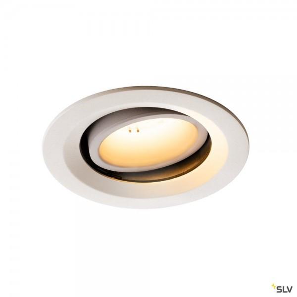SLV 1003572 Numinos Move M, Deckeneinbauleuchte, weiß, LED, 17,55W, 2700K, 1600lm, 55°