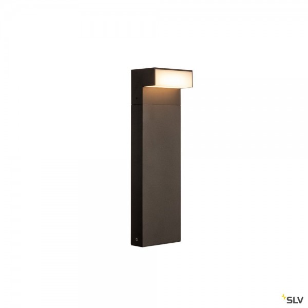 SLV 1003537 L-Line Out 50, Standleuchte, anthrazit, IP65, LED, 7W, 3000/4000K, 530lm