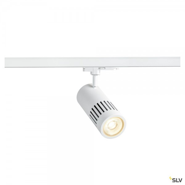 SLV 1003027 Structec, 3Phasen, Strahler, weiß, dimmbar Dali, LED, 29W, 4000K, 2600lm