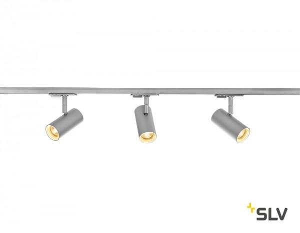 SLV 1002612 Noblo Spot Set, 1Phasen, Strahler, grau, LED, 22,5W, 2700K, 1860lm