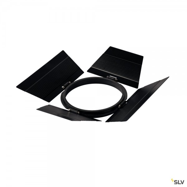 SLV 1000679 Supros, Blendkappen, schwarz