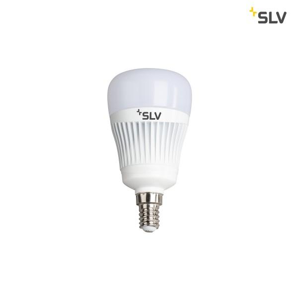 SLV 1002521 Play, Leuchtmittel, weiß, dimmbar, E14, LED, 6,8W, 2700K-6500K, 400lm