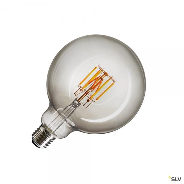 SLV 1003096 Leuchtmittel, Rauchglas, Dim to Warm C, G125, E27, LED, 8W, 2000K-2900K, 300lm
