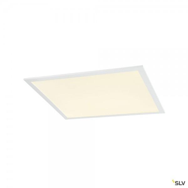 SLV 1003084 LED Panel, Deckeneinbauleuchte, weiß, 59,9x59,9cm, LED, 35W, 4000K, 4000lm