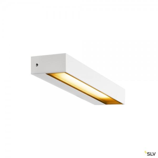 SLV 1002070 Pema, Wandleuchte, weiß, IP54, LED, 7,7W, 3000K, 450lm