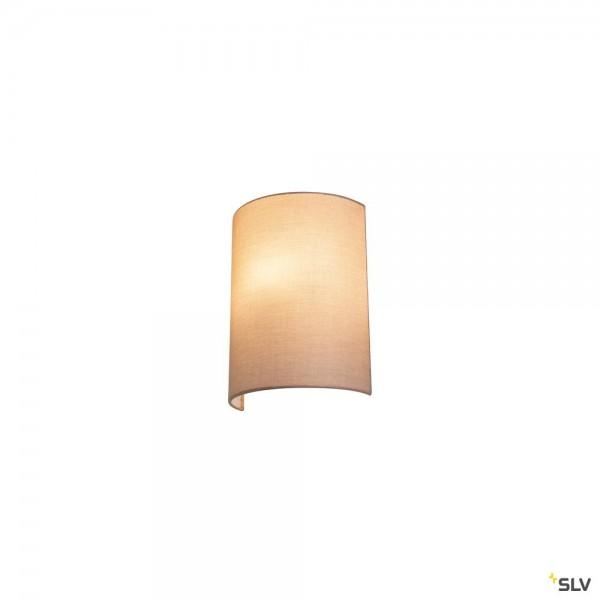 SLV 1001272 + 1001276 Fenda, Wandleuchte, beige, E27, max.40W