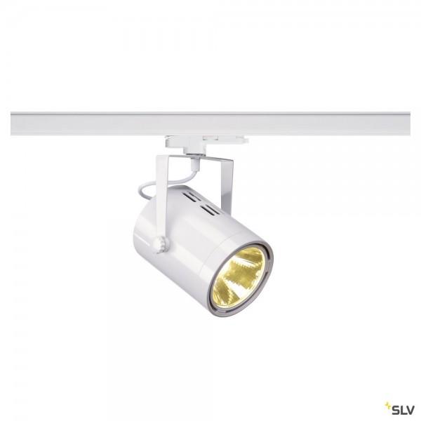 SLV 1002676 Euro Spot, 3Phasen, Strahler, weiß, dimmbar Dali, LED, 20W, 4000K, 2000lm, 38°