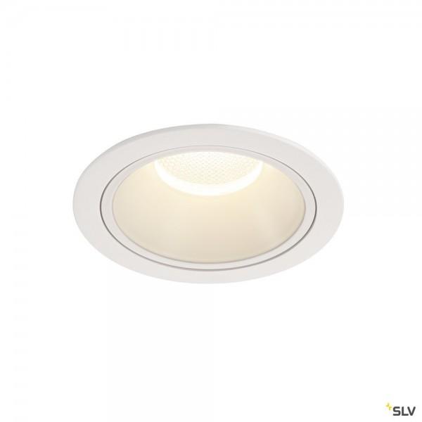 SLV 1004052 Numinos XL, Deckeneinbauleuchte, weiß, LED, 37,4W, 4000K, 3800lm, 55°