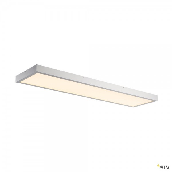 SLV 1001508 LED Panel, Deckenleuchte, silbergrau, dimmbar Triac C, LED, 45W, 3000K, 3100lm