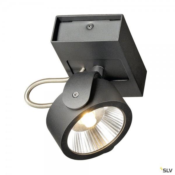 SLV 1000127 Kalu, Strahler, schwarz, dimmbar Triac C, LED, 17W, 3000K, 1000lm, 60°